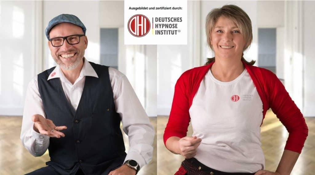 Lars Gutzeit und Katrin Winkelmann Hypnose Master DHI, Hypnoseausbilder DHI