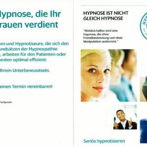 Flyer Hypnospathie - blanko